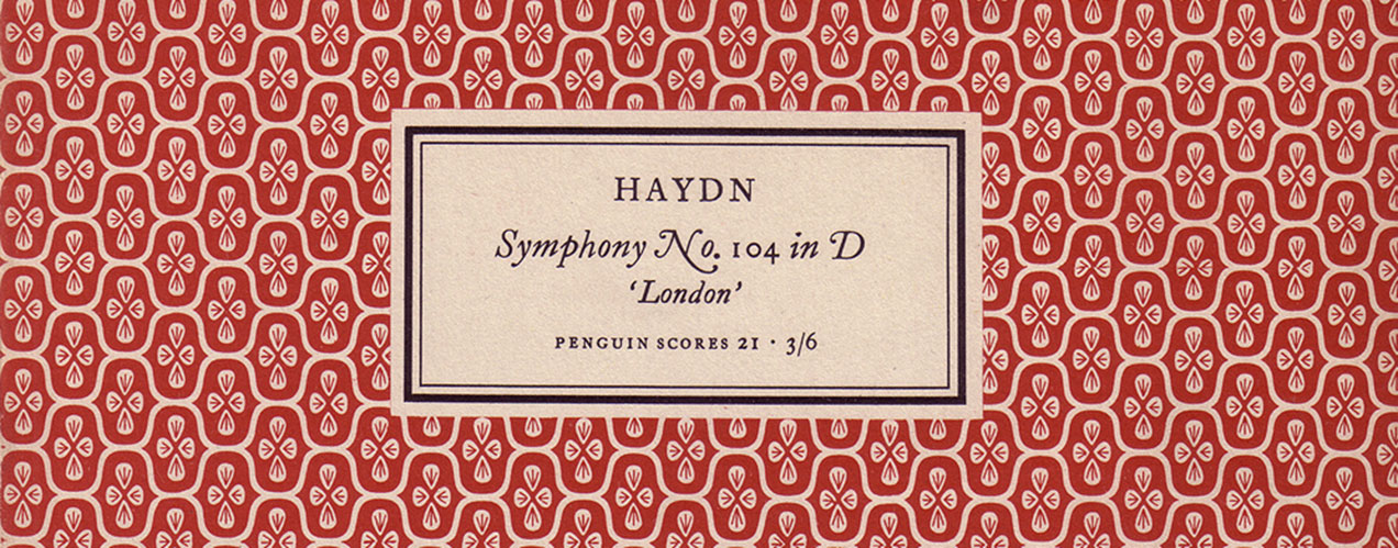 Jan Tschichold – Penguin scores 1949