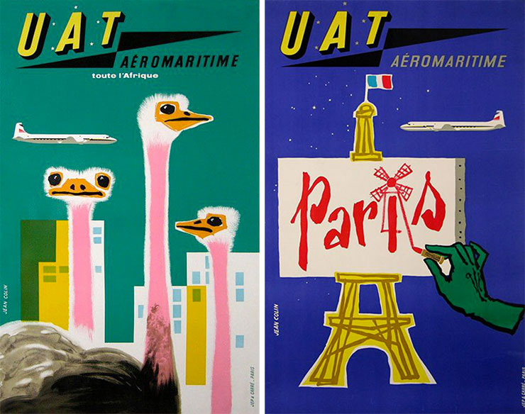 Jean-Colin-UAT-aeromaritime-affiches