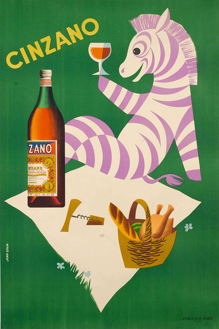 Jean-Colin-affiche-cinzano