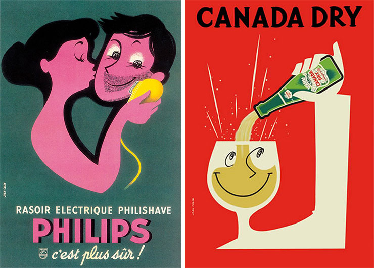 Jean-Colin-affiches-philips-canada-dry