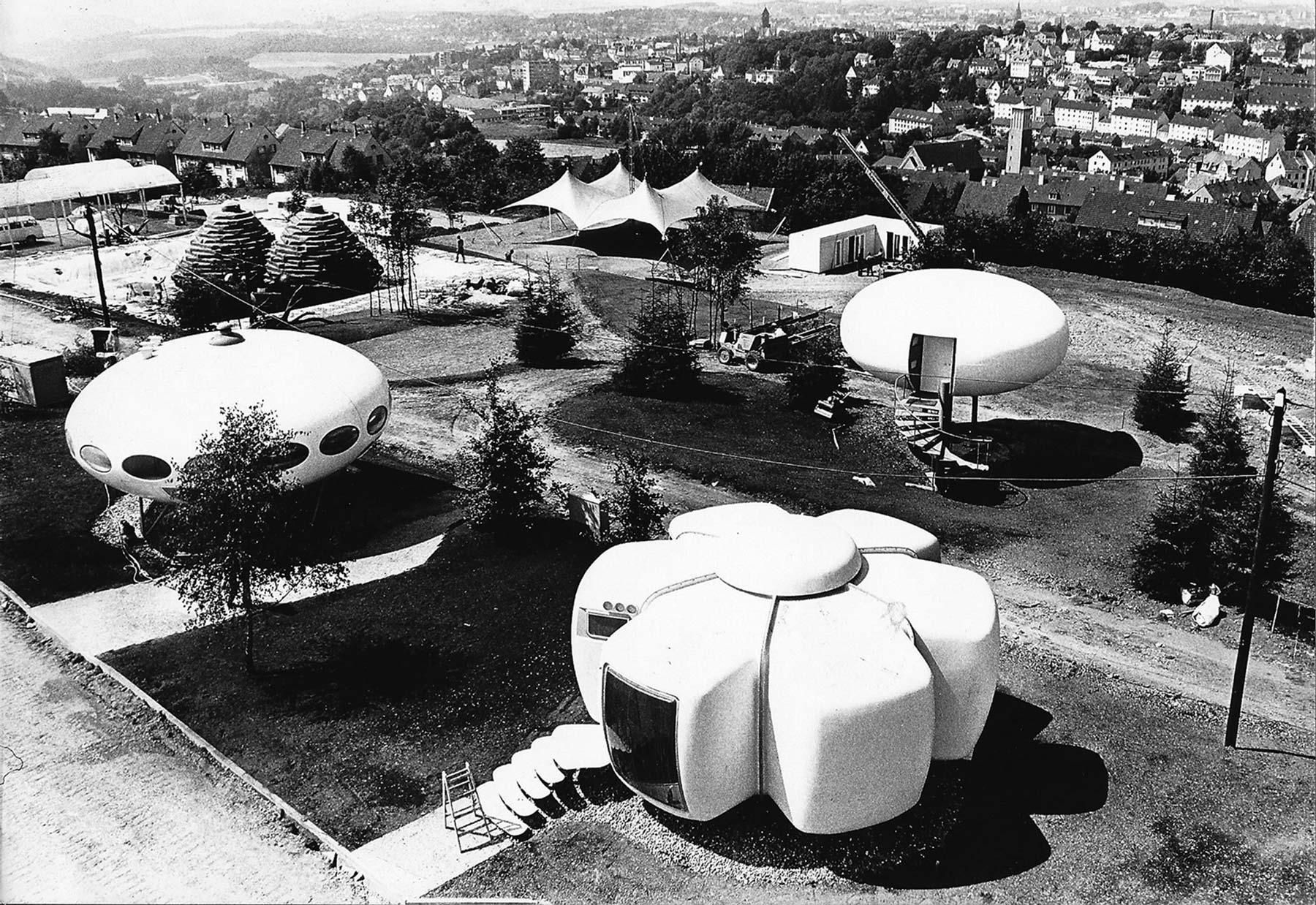 Maison bulle – Jean-Benjamin Maneval