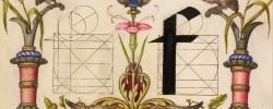 Joris Hoefnagel – Guide to Constructing the Letters – 1595