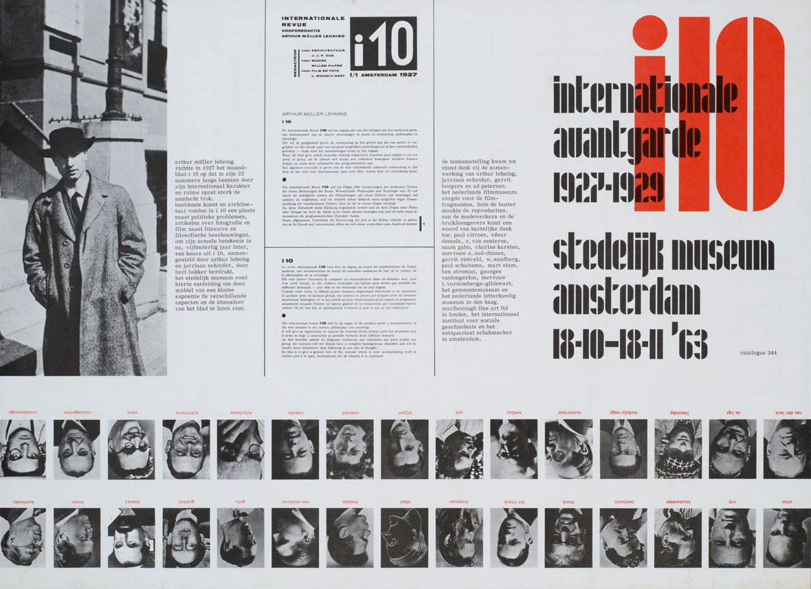 Jurriaan-Schrofer-i10,-Internationale-avantgarde-1927-1929,-Stedelijk-Museum-Amsterdam-1963-brochure