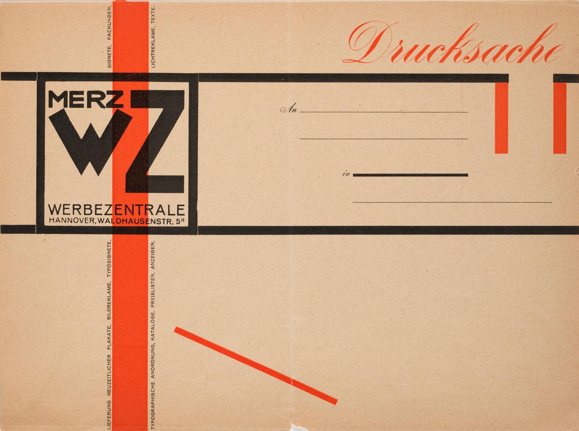 Kurt-Schwitters-Merz-Werbezentrale-Drucksache-1924