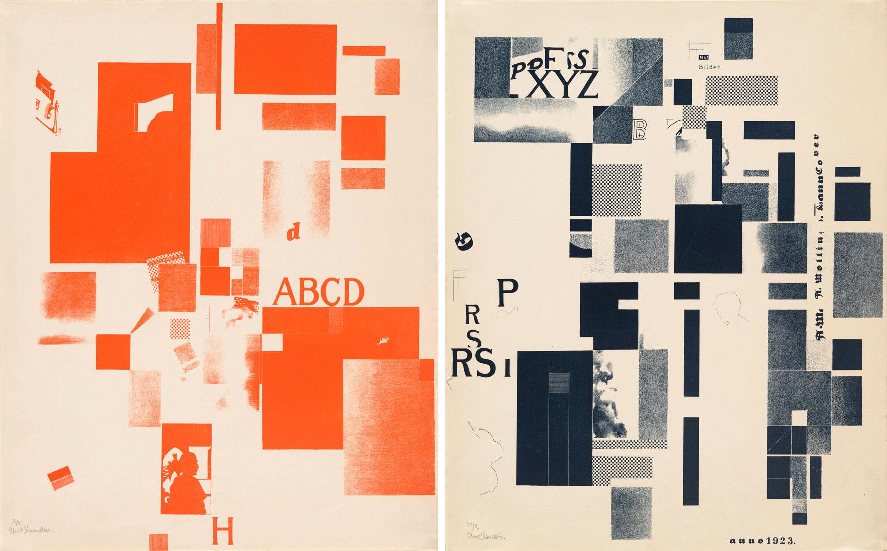 Kurt-Schwitters-Plates-from-Merz-3-1923