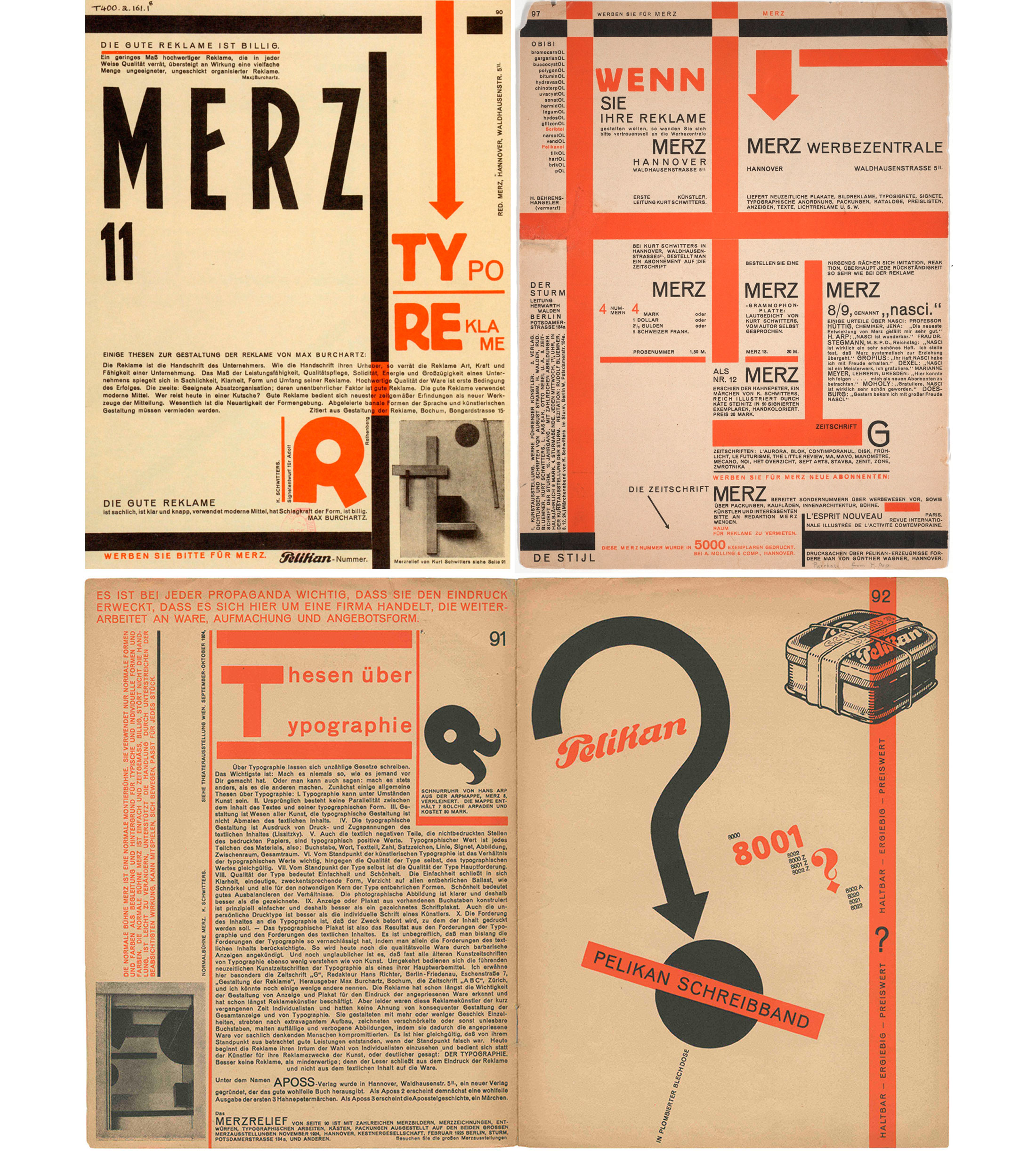 Kurt-Schwitters-Typo-Reklame-1923-revue-merz-numero-11