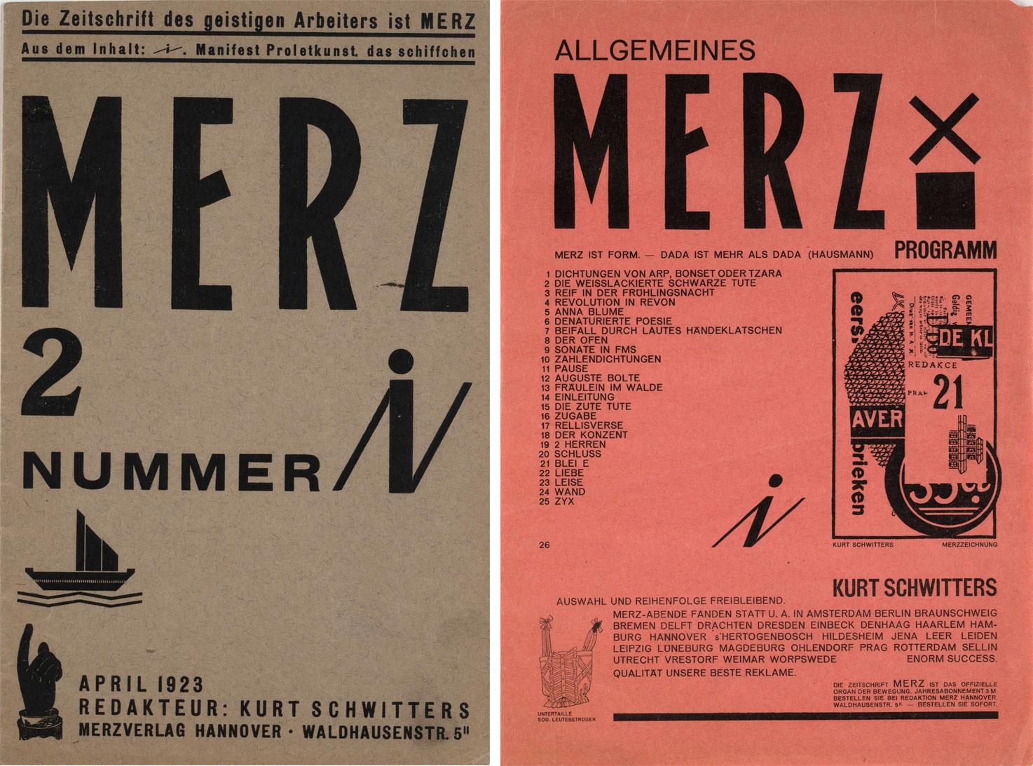 Kurt-Schwitters-revue-MERZ