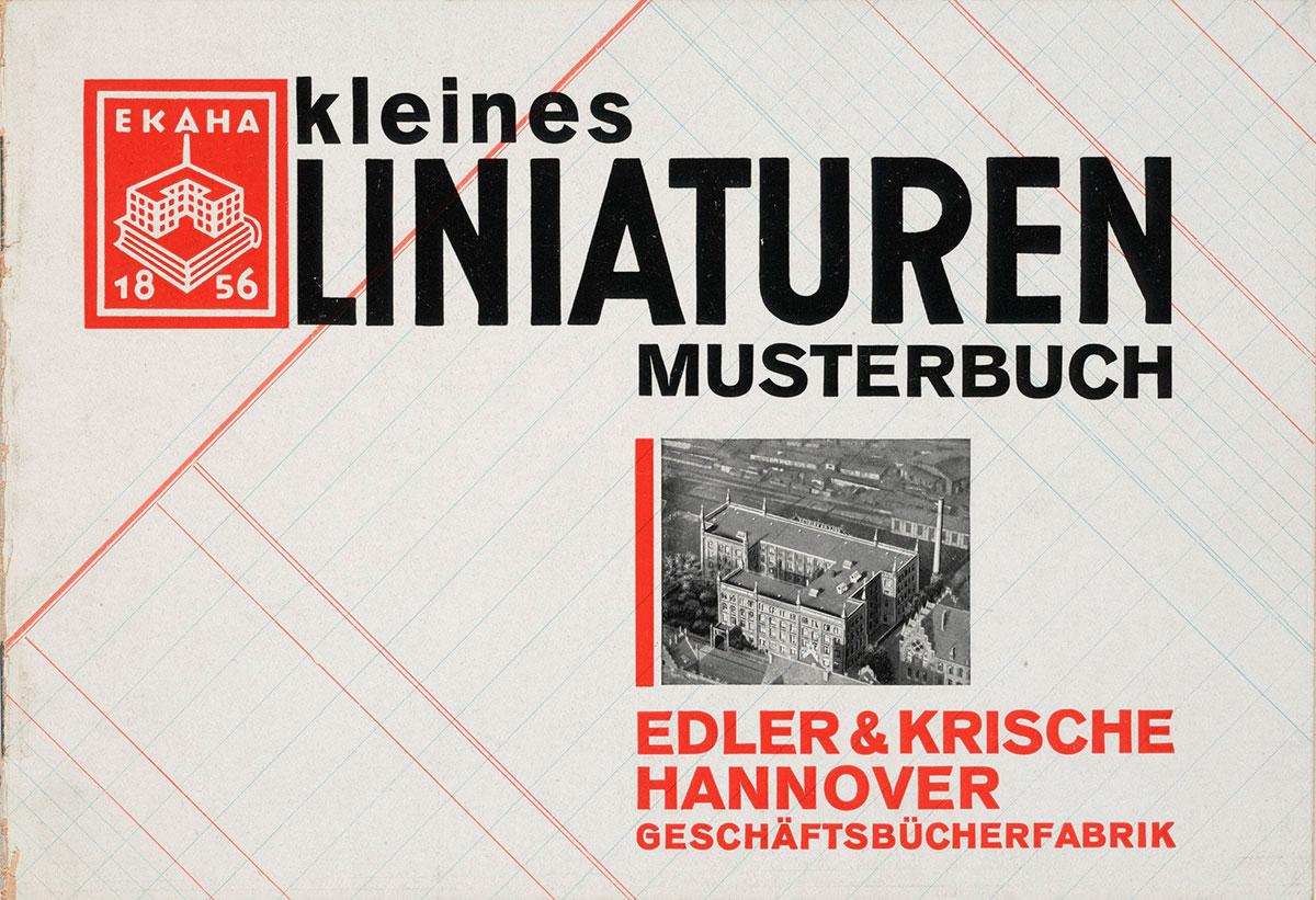 Kurt-SchwittersKleines-Liniaturen-Musterbuch-1927