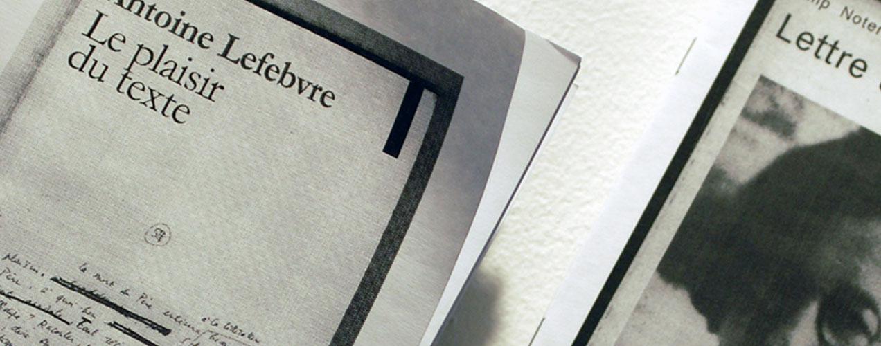 La bibliotheque fantastique – Antoine Lefèbvre
