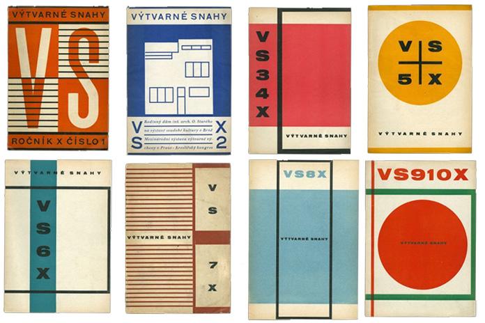 Ladislav-Sutnar-czechoslovakian-periodical-Výtvarne-snahy-1926-30-Prague