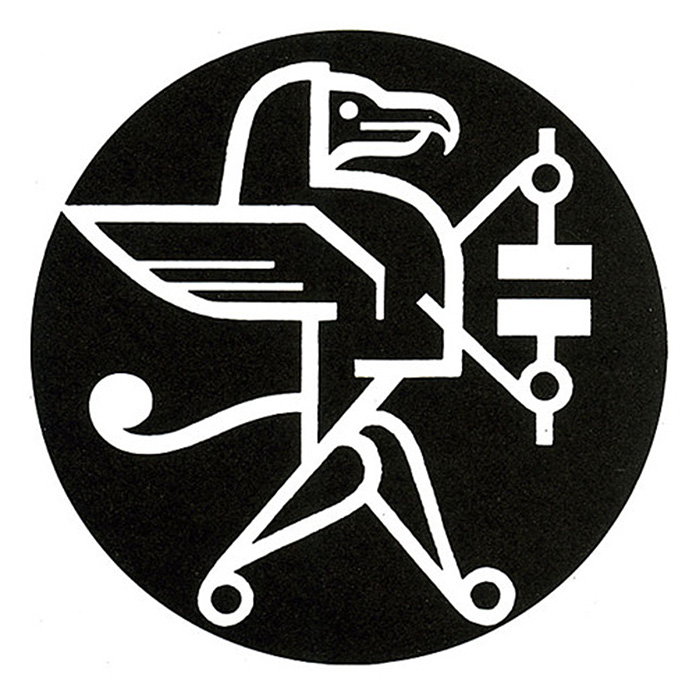 Ladislav-Sutnar-logotype-Golden-Griffon-books-1950