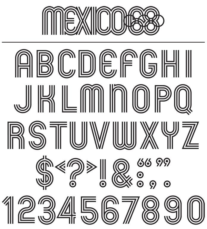 Lance-Wyman-JO-Mexico-68-typographie-03