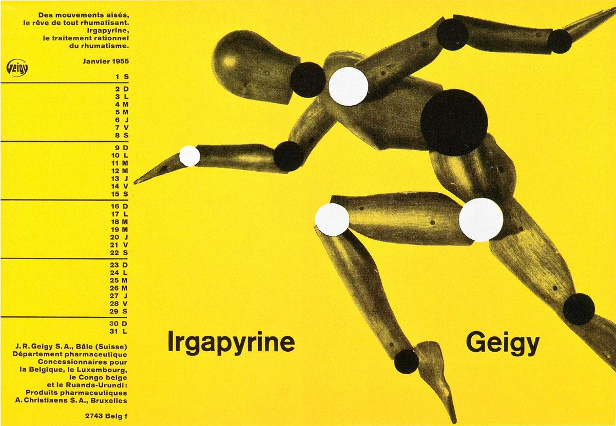 Le style Geigy | 1941-1970