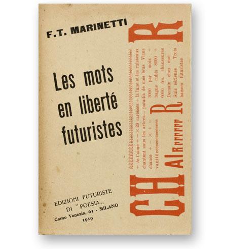Les-Mots-en-Liberte-Futuristes-Filippo-Tommaso-Marinetti-1919-bibliotheque-index-grafik-cover