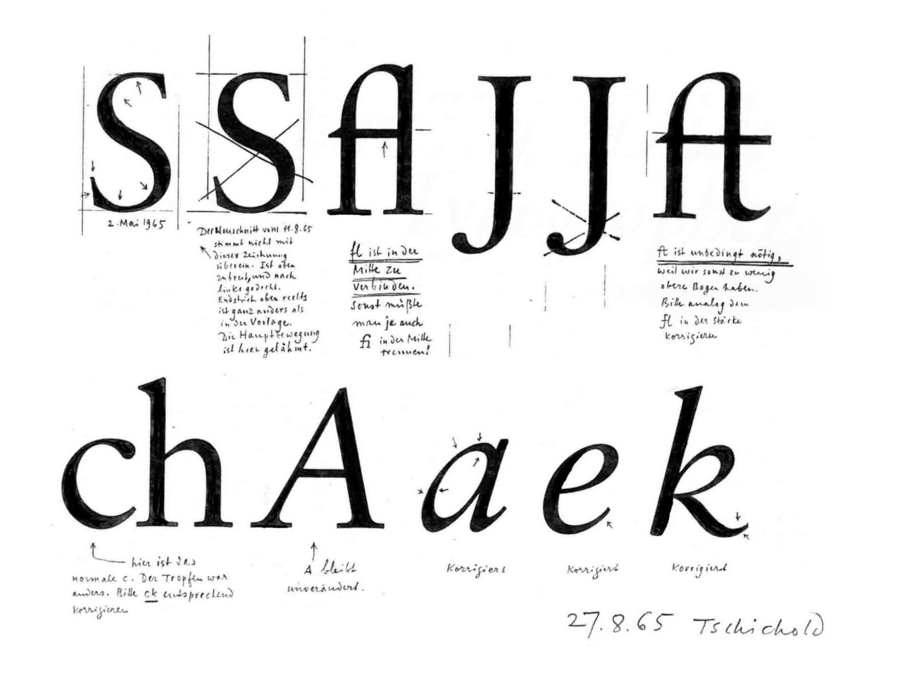 Les-origines-du-Sabon-Maximilien-Vox-1969-jan-tschichold-croquis-index-grafik