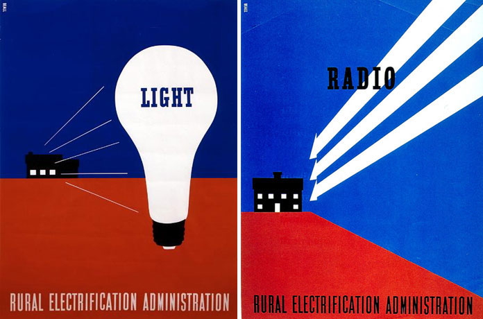 Lester-Beall-rural-electrification-administration-affiches-00