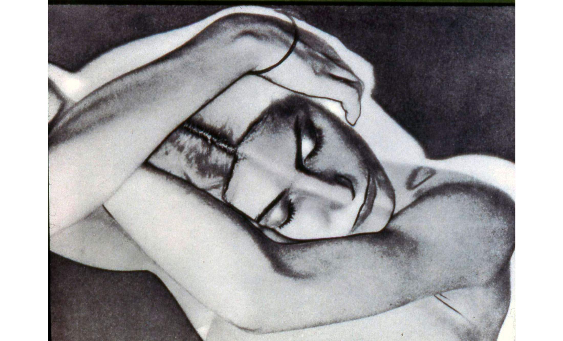 Man Ray solarisation photo
