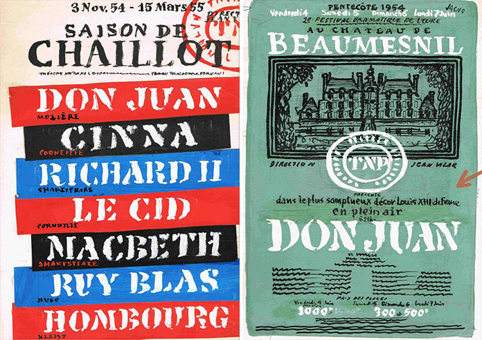 Marcel-Jacno-esquisse-TNP-affiche-1954-1955