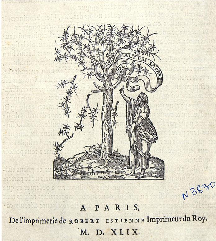 Marque-de-Robert-Estienne-Dictionarium-Latino-Gallicum-1546