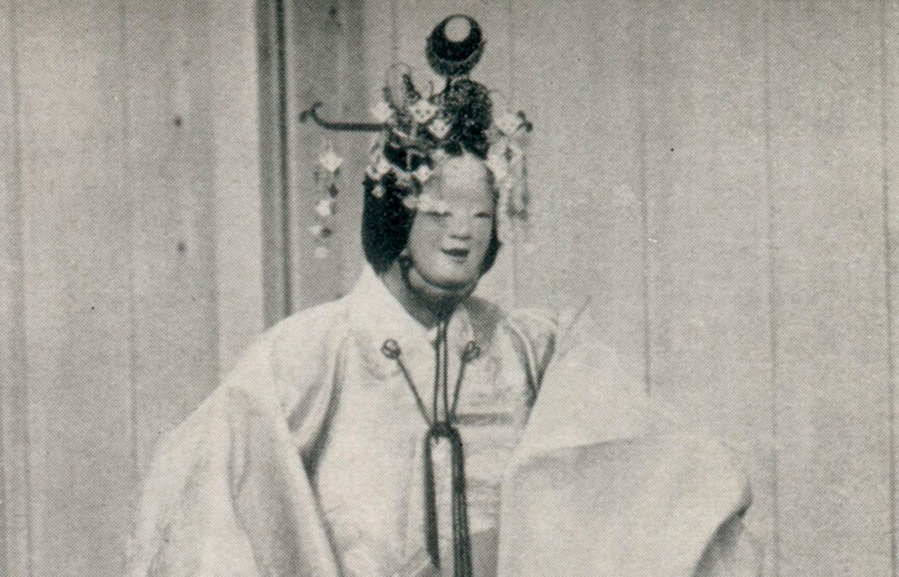 Les masques du théâtre Nô