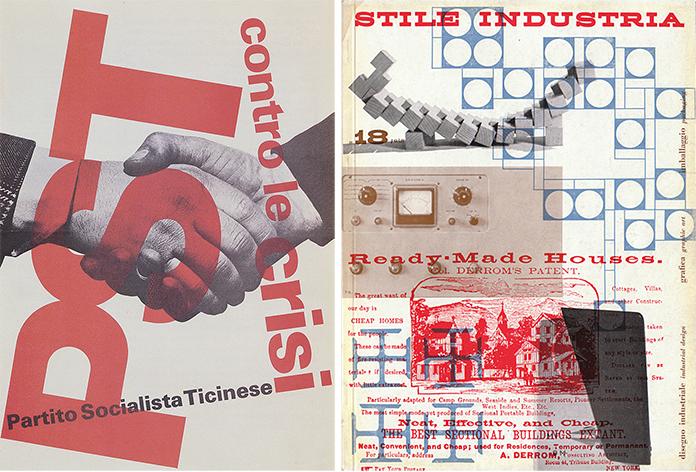 Max-Huber-Partito-Socialista-Ticinese-1974-Stile-Industria-1958