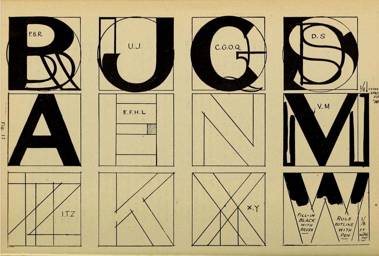 Modern-show-card-writing-Joseph-Bertram-Jowitt-bibliotheque-pdf-