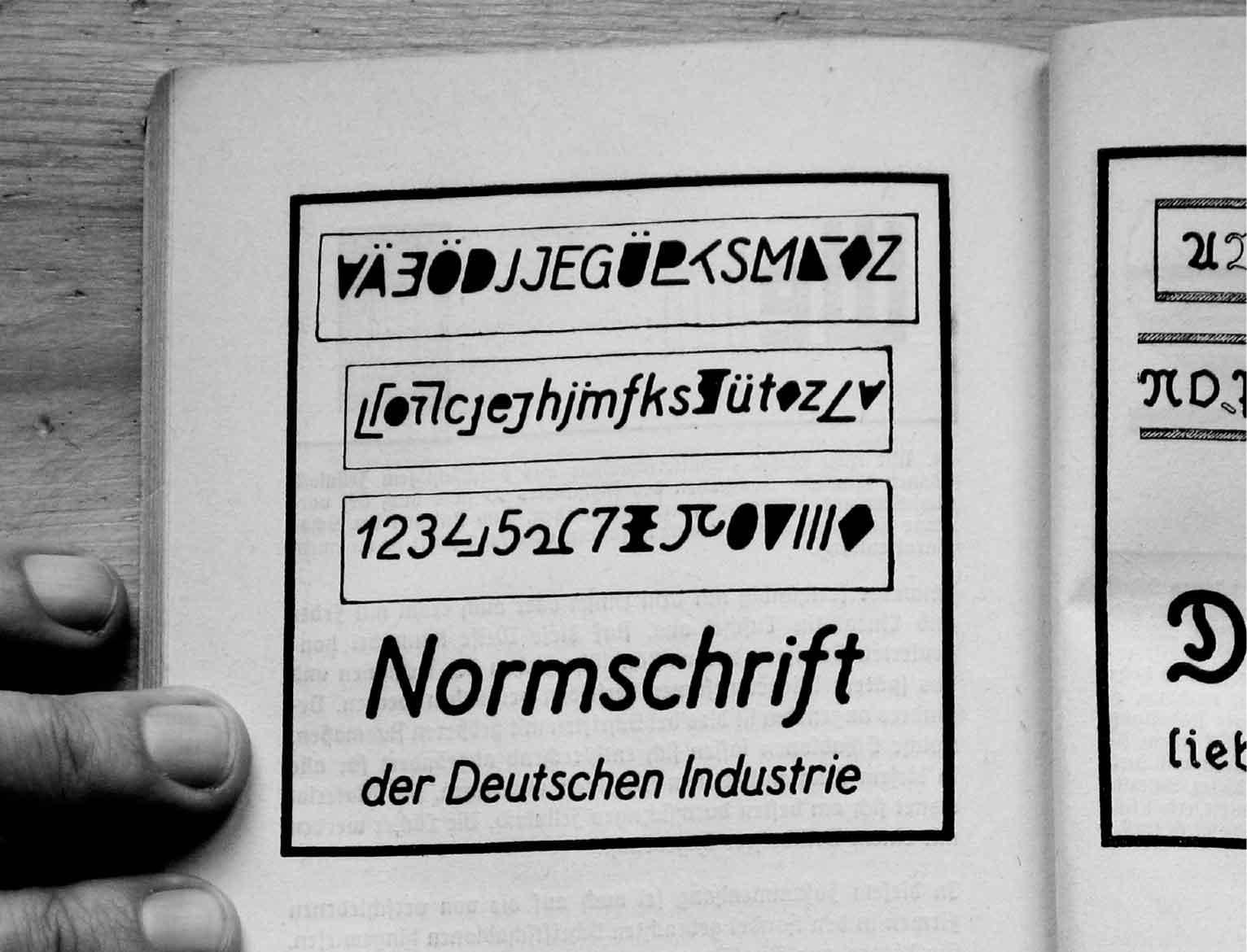 Normalisation DIN – de la lettre au mobilier