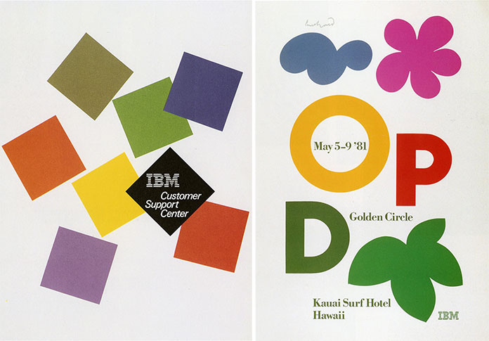 Paul-Rand-IBM-affiches-1980-1981