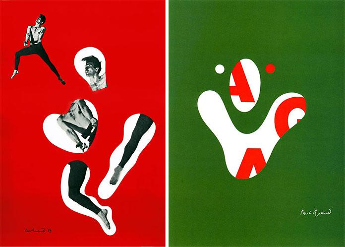 Paul-Rand-affiche-base-sur-revue-Direction-1939-affiche-AIGA-1968