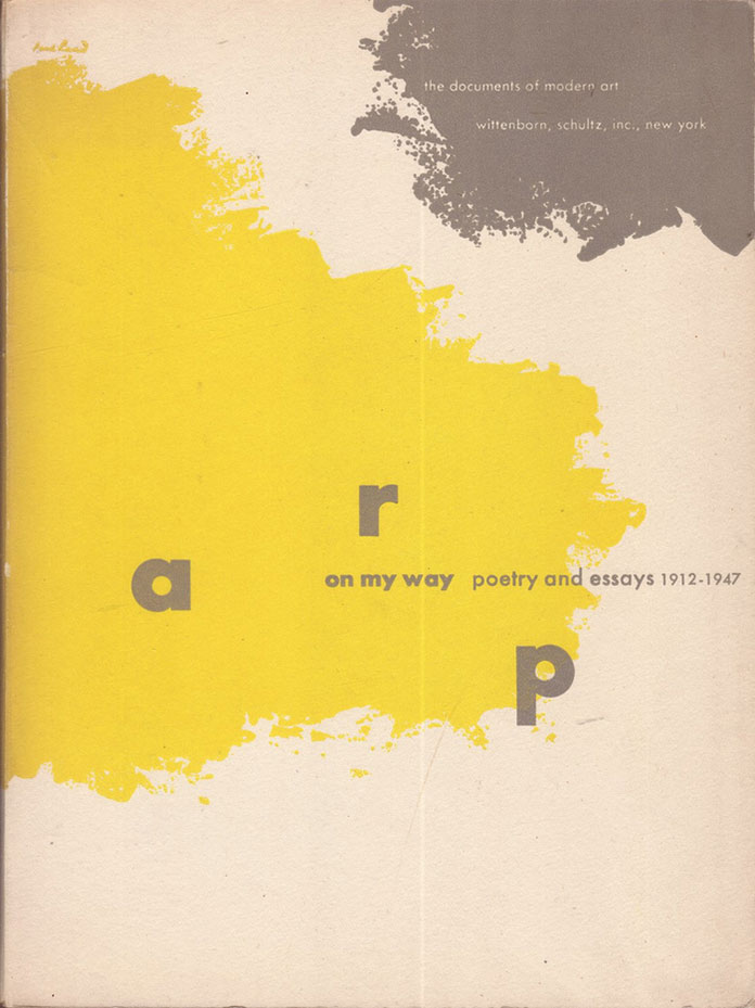 Paul-Rand-couverture-the-document-of-modern-art-Arp-1913