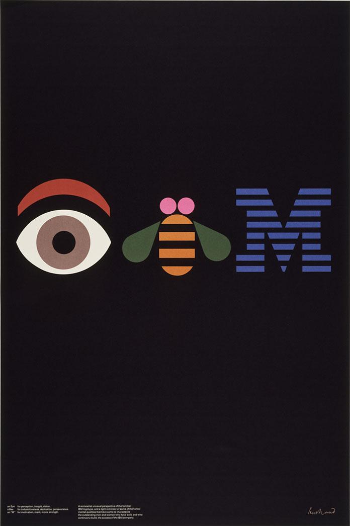 Paul-Rand-eye-bee-m-affiche-IBM-1981