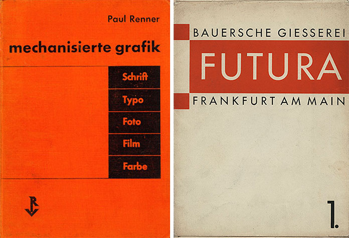 Paul renner mechanisierte grafik 1930 specimen-futura