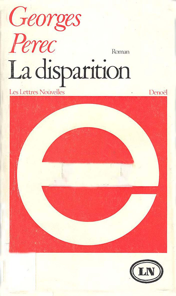 Perec-La-disparition--1968