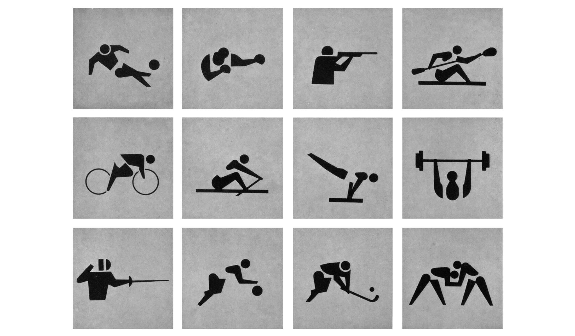 Pictogramme-Jeux-Olympiques-Tokyo-1964-YOSHIRO-YAMASHITA
