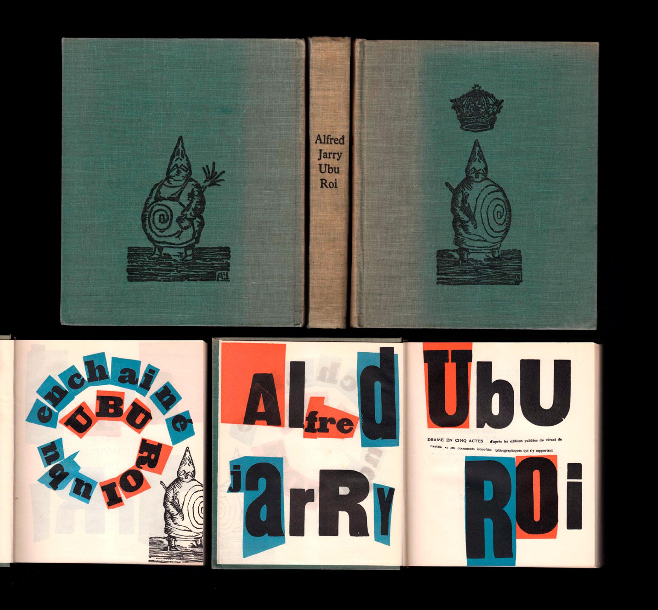 Pierre Faucheux Alfred Jarry Ubu roi 1950