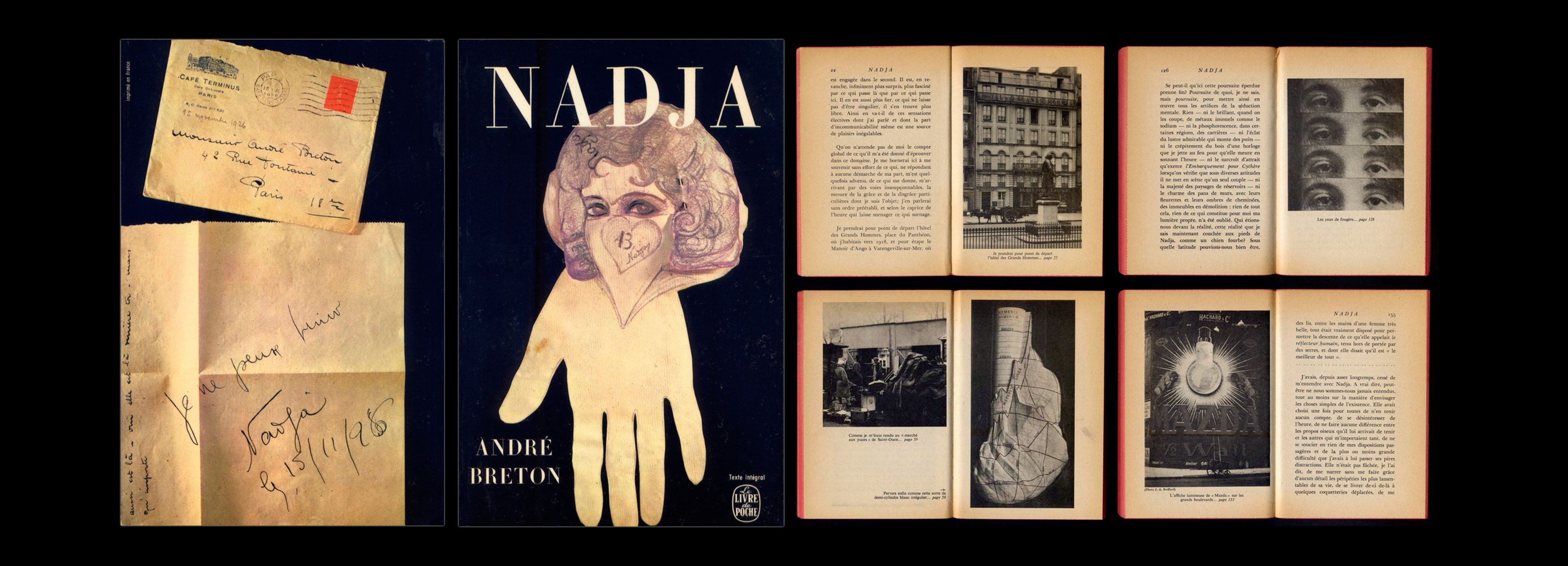 Pierre-Faucheux-couverture-Andre-Breton-Nadja-Livre-de-Poche-1964