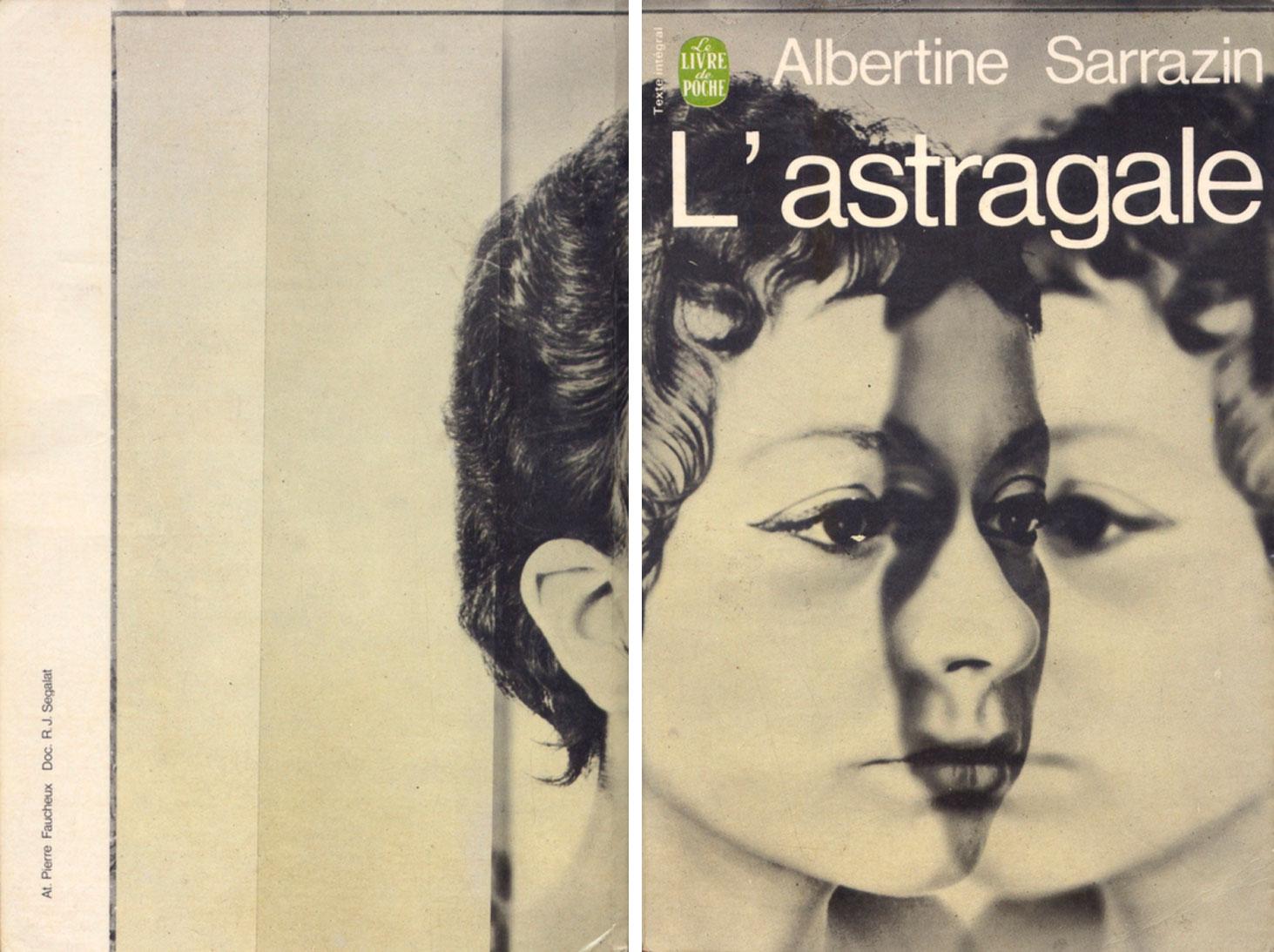 Pierre-Faucheux-couverture-Livre-de-Poche-L-Astragale-1968