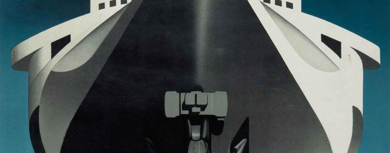 A.M Cassandre – Une affiche qui a du tranchant