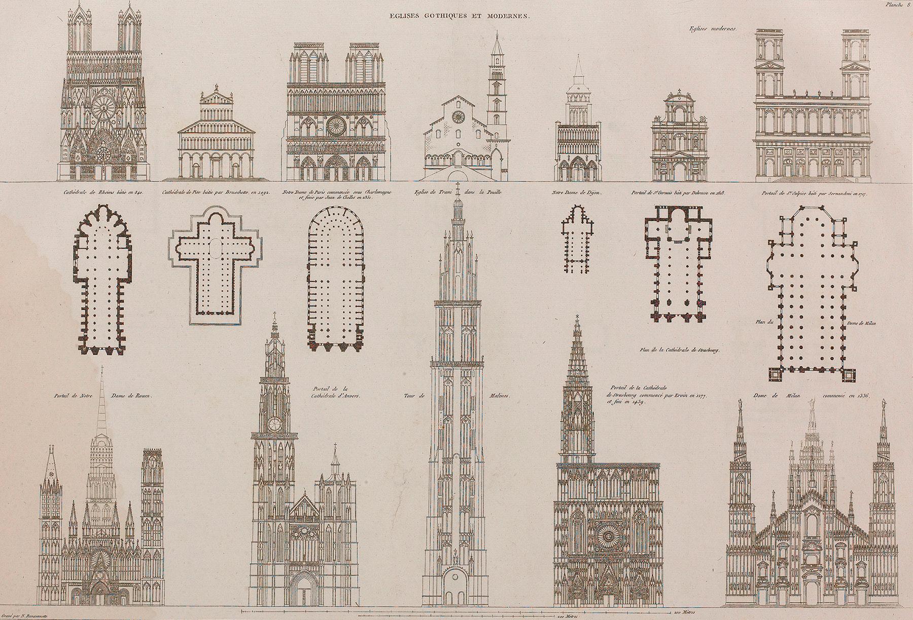 Recueil et parallèle des édifices de tout genre anciens et modernes