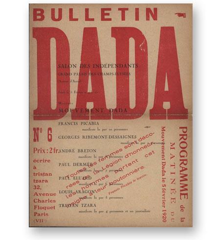 Revues-DADA-1917-1921-Tristan-Tzara-Zurich-Paris-7-numeros-bibliotheque-index-grafik