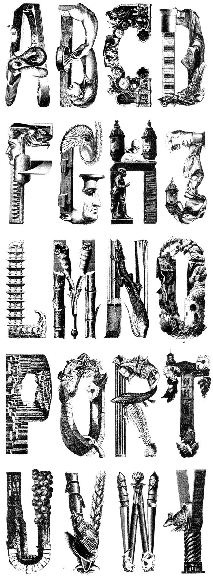Roman-Cieslewicz-alphabet-1964-guide-de-la-france-mysterieuse