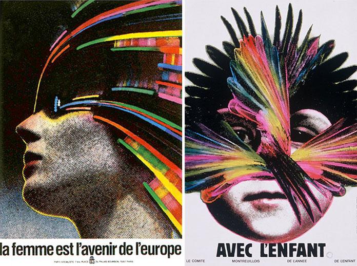 Roman-Cieslewicz-la-femme-est-l-avenir-de-l-europe-1978-avec-l-enfant-1979