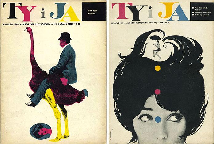 Roman-Cieslewicz-magazine-tyija-couvertures-1961-1963