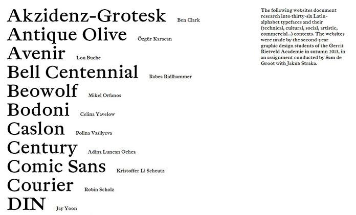 SHOW-INFO-site-typographie-Gerrit-Rietveld-Academie