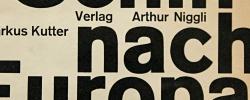 Schiff nach Europa – Karl Gerstner – 1957