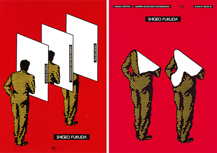 Shigeo-Fukuda-affiches-Quimper-exposition-1992