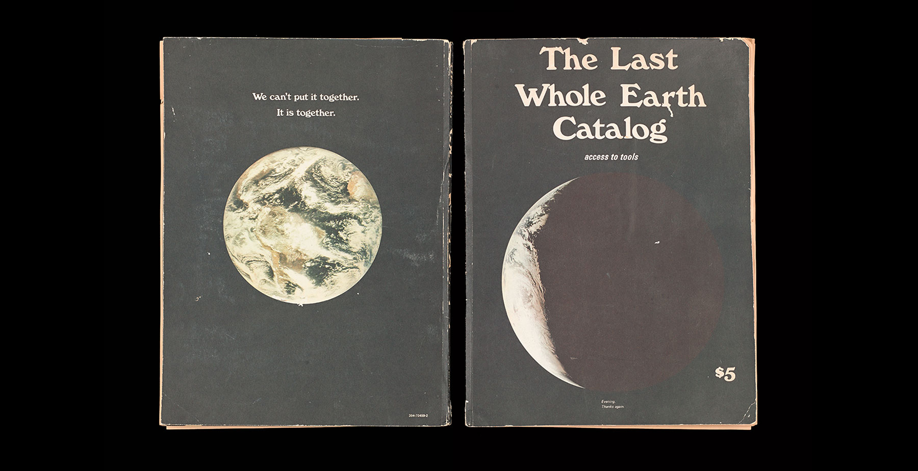 The last Whole Earth Catalog access to- tools Stewart Brand couverture 1971