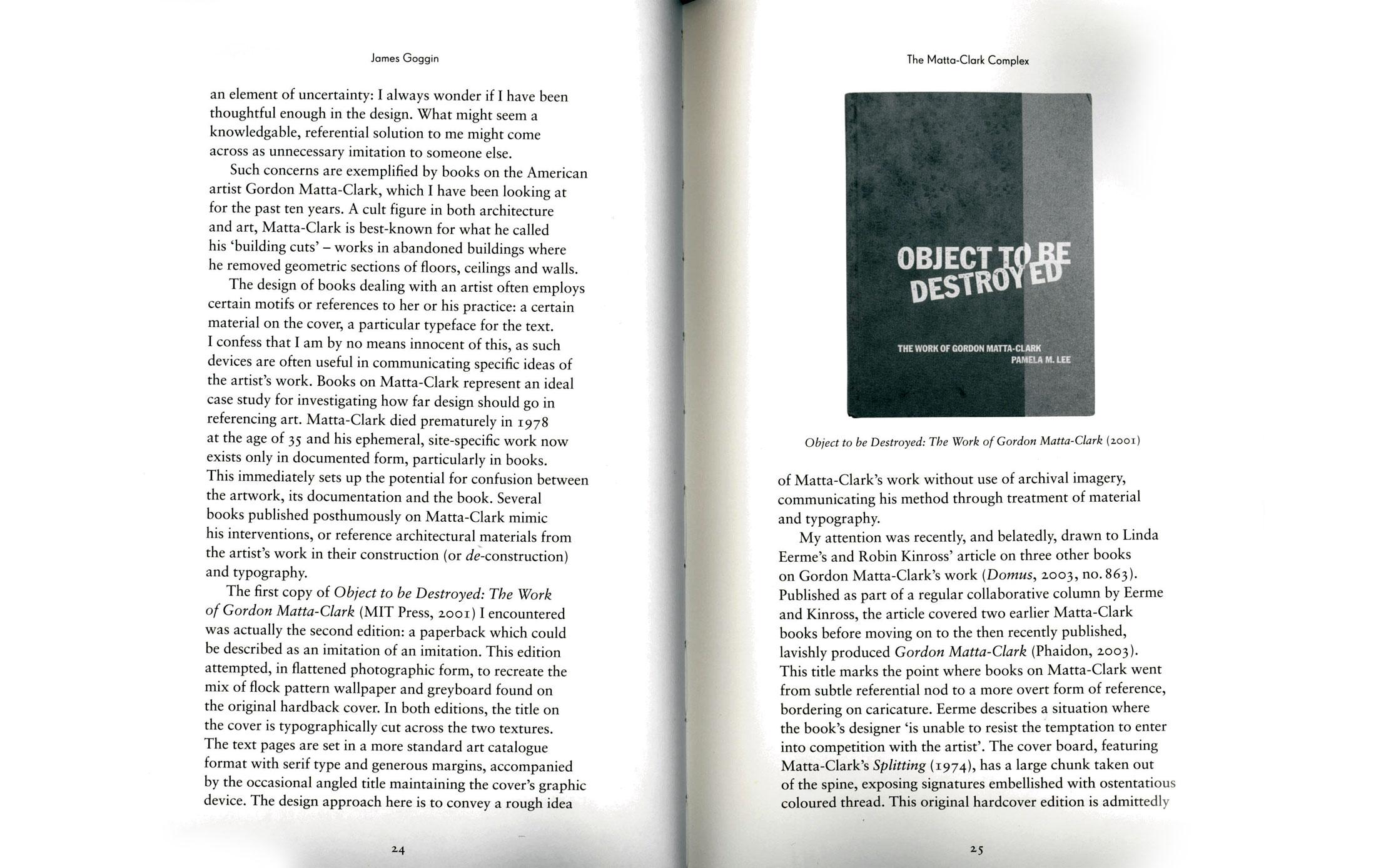 The-Matta-Clark-Complex-Materials-Interpretation-and-the-Designer-essai-James-Goggin-The-Form-of-the-Book-Book-2