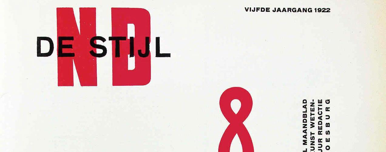 Theo van Doesburg – revues De Stijl, Mecano & alphabet