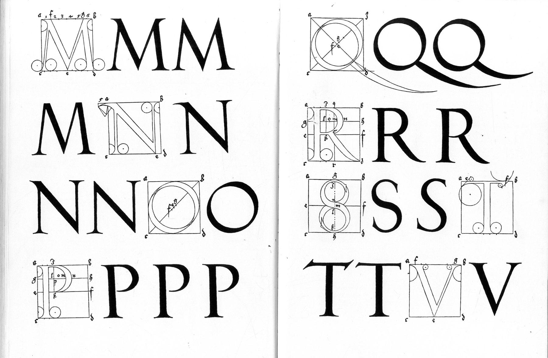 Typographie des caractères romains de la Renaissance – Hermann Zapf